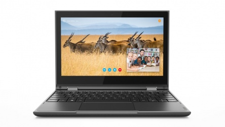 "Lenovo 2 en 1 300e 11.6"" HD, Intel Celeron N4100 1.10GHz, 4GB, 64GB eMMC, Windows 10 Home 64-bit, Negro"