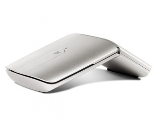 Mouse Lenovo Óptico Yoga, RF Inalámbrico, Bluetooth, 1600DPI, Plata
