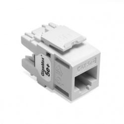 Leviton Conector Quickport eXtreme Categoria 5e UTP 5G110-RW5, Blanco