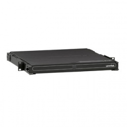 Leviton Panel 1000i SDX para Rack, 1U, Negro