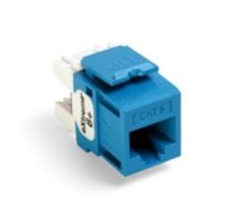 Leviton Jack Modular Quickport Categoría 6, Azul