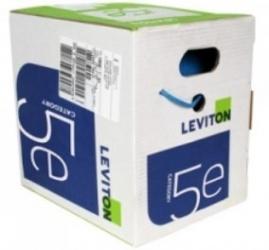 Leviton Bobina de Cable Cat5e UTP, 305 Metros, Gris