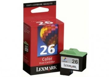Cartucho Lexmark #26 Tricolor