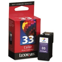 Cartucho Lexmark #33 Color, 280 Páginas
