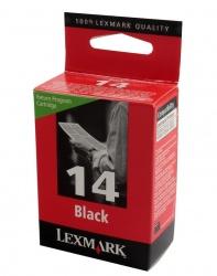 Cartucho Lexmark #14 Negro, 175 Páginas