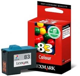 Cartucho Lexmark #83 Tricolor