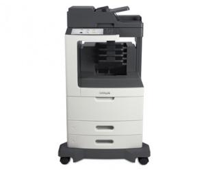 Multifuncional Lexmark MX811dme, Blanco y Negro, Láser, Inalámbrico (necesita Adaptador), Print/Scan/Copy/Fax