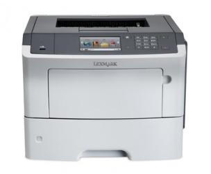 Lexmark MS610de, Blanco y Negro, Láser, Inalámbrico (con Adaptador), Print