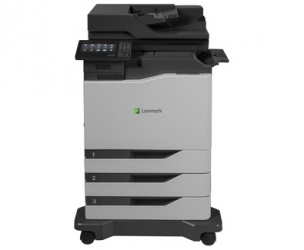 Multifuncional Lexmark CX820dtfe, Color, Láser, Print/Scan/Copy/Fax