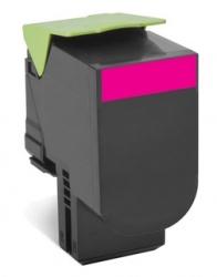 Toner Lexmark Programa Retorno 70C80M0 Magenta, 1000 Páginas