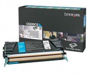 Tóner Lexmark C5220CS Cyan, 3000 Páginas