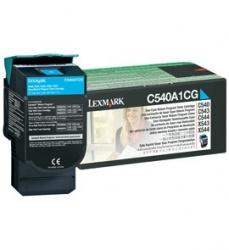 Tóner Lexmark C540A1CG Cyan, 1000 Páginas
