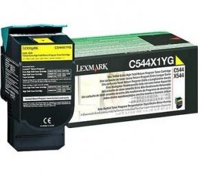 Toner Lexmark C544X1YG Amarillo, 4000 Páginas