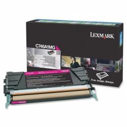 Tóner Lexmark Programa Retorno C746A1MG Magenta, 7000 Páginas
