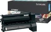 Tóner Lexmark C7700KH Negro, 10.000 Páginas