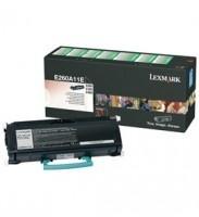 Tóner Lexmark E260A11L Negro, 3500 Páginas