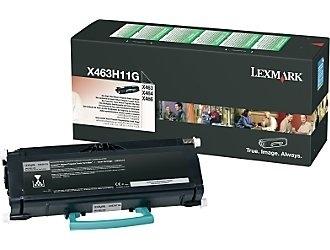 Tóner Lexmark Programa Retorno X463H11G Negro, 9000 Páginas