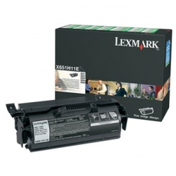 Tóner Lexmark Programa Retorno X651H11L Negro, 25.000 Páginas