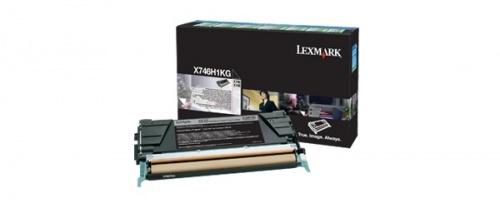 Tóner Lexmark Programa Retorno X746H1KG Negro, 12.000 Páginas