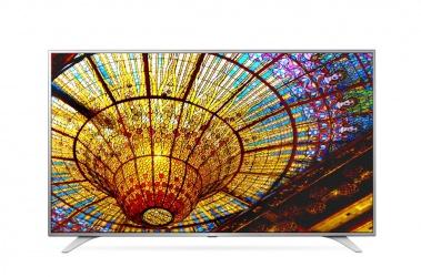 "LG Smart TV LED 49UH6500 49"", 4K Ultra HD, Widescreen, Plata"