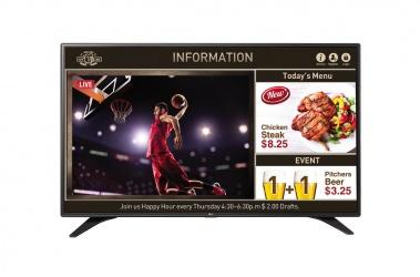 LG 55LV640S Pantalla Comercial LED 55'', Full HD, Widescreen, Negro