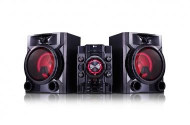 LG CM5660 Minicomponente, Bluetooth, 700W RMS, USB 2.0, Karaoke, Negro