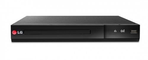 LG DVD Player DP132, Externo, USB 2.0, Negro