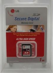 Memoria Flash LG SD1GLC-01P, 1GB SD