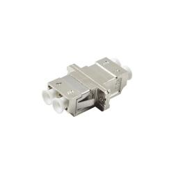 LinkedPRO Módulo Acoplador de Fibra Óptica Multimodo LC/LC, Plata