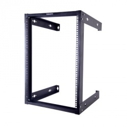 LinkedPRO Rack Abierto de 19'' para Pared 16U, Negro