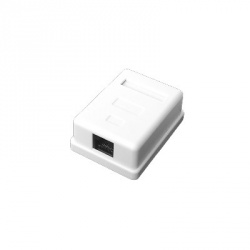 LinkedPRO Caja de Pared LP-WP-6034, 1x RJ-45, Blanco