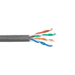 LinkedPRO Bobina de Cable Cat5e UTP, 305 Metros, Gris