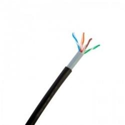 LinkedPRO Bobina de Cable Cat5e UTP, 450 Metros, Negro
