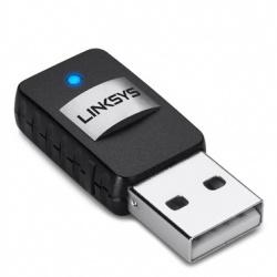 Linksys Mini Adaptador de Red USB AE6000, Inalámbrico, 2.4/5GHz