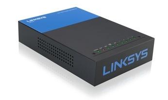 Router Linksys Gigabit Ethernet LRT224, Alámbrico, 5x RJ-45