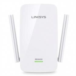 Linksys Extensor de Rango RE6400 AC1200 BOOST EX, Inalámbrico, 300 Mbit/s