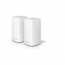 Router Linksys con Sistema de Red Wi-Fi en Malla Velop AC2600, 1267 Mbit/s, 2.4/5GHz, 2x RJ-45 - Kit de 2 Piezas