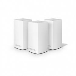 Router Linksys con Sistema de Red Wi-Fi en Malla Velop AC3900, 1267 Mbit/s, 2.4/5GHz, 2x RJ-45 - Kit de 3 Piezas