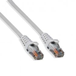 Logico Cable Patch Cat6 UTP Moldeado RJ-45 - Macho - RJ-45 - Macho, 15 Metros, Blanco