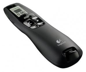 Logitech R800 PRO, USB, Inalámbrico, Negro