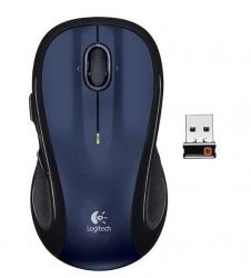 Mouse Logitech Láser M510, Inalámbrico, USB, Azul
