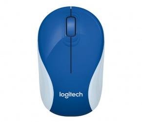 Mouse Logitech Óptico M187, RF Inalámbrico, 1000DPI, Azul