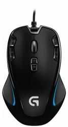 Mouse Gamer Logitech Óptico G300S, Alámbrico, USB, 2500DPI, Negro