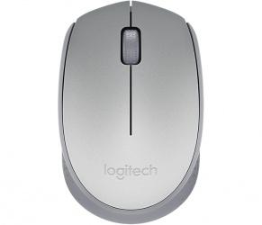 Mouse Logitech Óptico M170, Inalámbrico, USB, Gris Claro