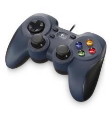 Logitech Gamepad F310, PC, Alámbrico, Negro/Gris