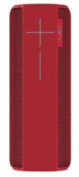 Logitech Bocina Portátil UE MEGABOOM, Bluetooth, Inalámbrico, 2.0, USB, Rojo - Resistente al Agua