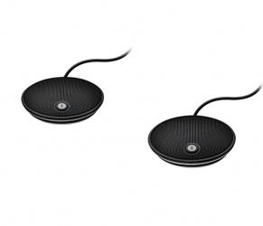 Logitech Micrófonos de Expansión 989-000171, Alámbrico, Negro