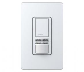 Lutron Interruptor de Luz Maestro Inteligente MS-B102-WH, Blanco