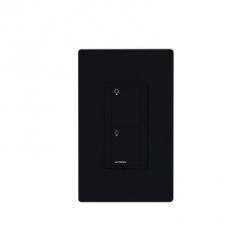 Lutron Interruptor de Luz Inteligente PD-5WS-DV-BL, 120V, Negro