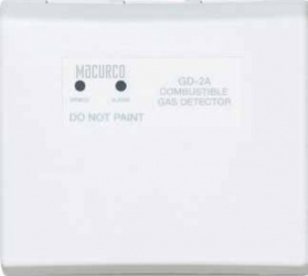 Macurco Detector de Gas GD-2A, Alámbrico, Blanco